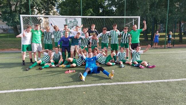 """FK """"Žalgiris"""" užsitikrino EJL U16 diviziono nugalėtojų titulą"""