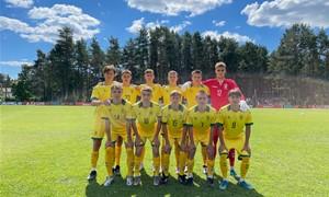 Lietuvos septyniolikmečiai Baltijos taurės turnyre pergalių neiškovojo