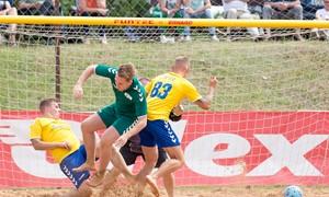 Ištraukti STIKLITA paplūdimio futbolo taurės burtai