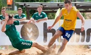 Ignalinoje savaitgalį paaiškės Lietuvos paplūdimio futbolo čempionai