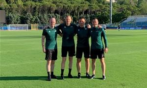 Lietuvos teisėjų brigada paskirta dirbti UEFA Konferencijų lygos rungtynėse