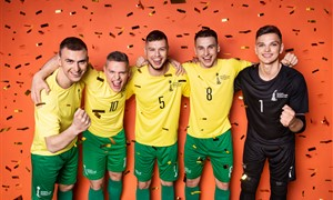 """Startavo pasaulio čempionatui skirta kampanija """"Pažink salės futbolą"""""""