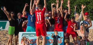 IGOL – vienuoliktąkart paplūdimio futbolo čempionas