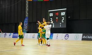Lietuvos salės futbolo rinktinė nugalėjo 25-ąją pasaulio komandą