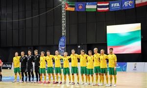 Po pertraukos subyrėję lietuviai pralaimėjo Tadžikistanui