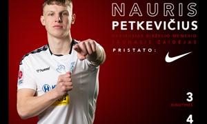 """Geriausiu """"Optibet A lygos"""" jaunuoju birželio mėnesio žaidėju tapo N. Petkevičius"""
