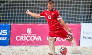 Apmaudi paplūdimio futbolo rinktinės nesėkmė užtvėrė duris į A divizioną