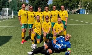 LFF moterų komandos narės džiaugiasi debiutu Regioninėje lygoje