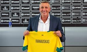 """Naujasis rinktinės treneris V. Ivanauskas: """"Reikalinga kantrybė ir tikėjimas"""""""