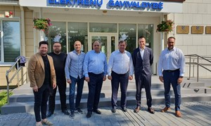 LFF generalinis sekretorius susitiko su Elektrėnų savivaldybės atstovais