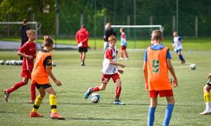 Iniciatyva sostinėje – didžiulis futbolo projektas, įtrauksiantis 2500 vaikų