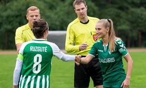 Moterų A lygos 14 turas: Kauno Žalgiriui į nugarą kvėpuoja FK Vilnius