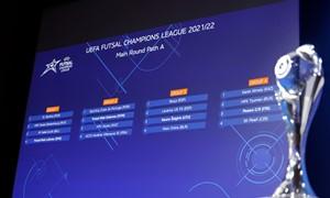 """UEFA Futsal Čempionų lygos burtai """"Kauno Žalgirį"""" suvedė su """"Barcelona"""""""