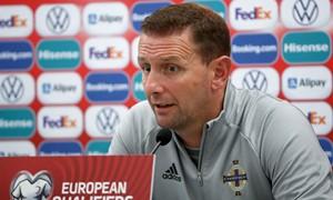 """Šiaurės Airijos rinktinės treneris įvertino rungtynes: """"Puikiai išnaudojome susikurtas progas"""""""