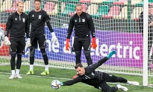 """E. Šetkus prieš rungtynes Bulgarijoje: """"Bandysime pateikti savo kozirius ir kausimės dėl pergalės"""""""