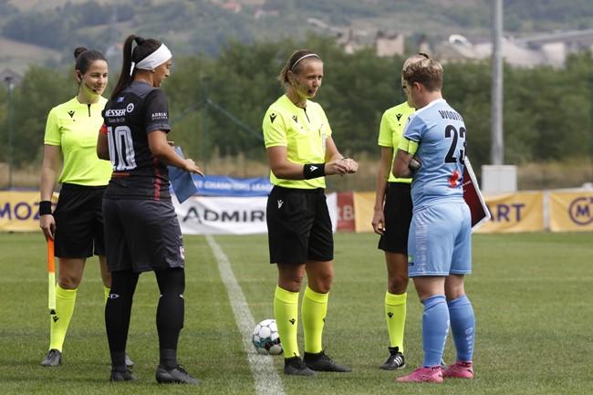 J. Mačikunytė ir U. Šmitaitė paskirtos teisėjauti UEFA atrankos turnyre