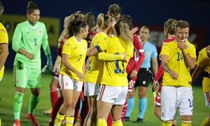 Lietuvos rinktinė pralaimėjo Rumunijos futbolininkėms
