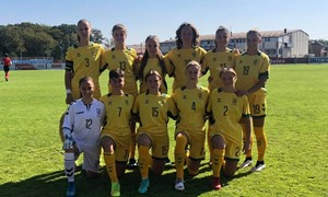Lietuvės UEFA atrankos turnyrą pradėjo lygiosiomis su Kazachstanu