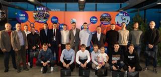 Pagerbti Lietuvai pasaulio čempionate atstovavę salės futbolo rinktinės nariai