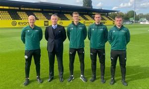 Lietuvos teisėjų brigada paskirta dirbti UEFA Jaunimo lygos rungtynėse Dortmunde
