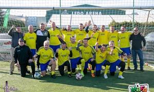 Senjorų (50+) mažojo futbolo pirmenybes laimėjo Vilniaus senjorai