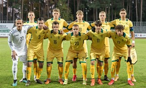 Septynių minučių atkarpa antrojo kėlinio viduryje jauniesiems lietuviams lėmė triuškinamą nesėkmę