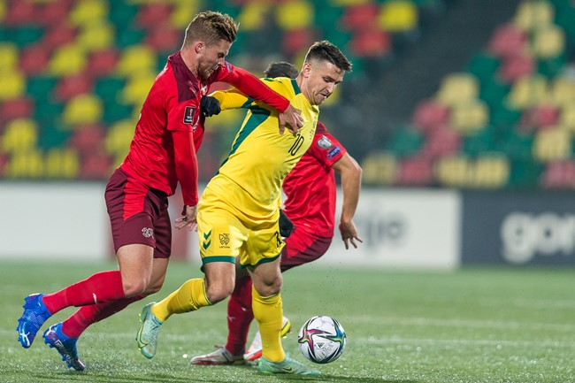 Lietuvos rinktinė savo aikštėje neprilygo Šveicarijai