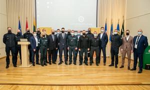 Padėkota pasaulio čempionate dirbusioms saugos tarnyboms