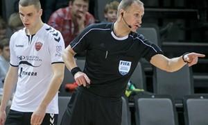 M. Pomeckis teisėjaus Europos moterų futsal čempionato pagrindinio etapo turnyre